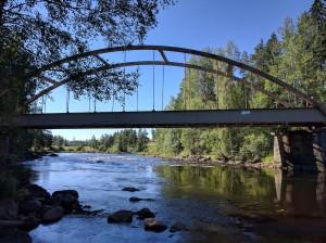 Flottarleden tågbro
